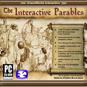 Jewel CD case graphic of Interactive Parables